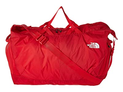 The North Face Flyweight Duffel (TNF Red/TNF White) Duffel Bags