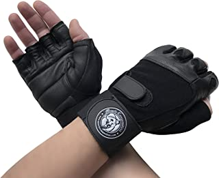 Muscle Composition Gym Gloves with Wrist Support for Gym Workout, Crossfit,Weightlifting Black/White or Black Premium Quality Materials.