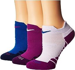 Nike - Dry Performance Cushion Low Training Socks 3-Pair Pack