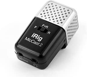 IK Multimedia iRig Mic Cast 2 Pocket-Sized Microphone for iPhone, iPad, and Android Devices