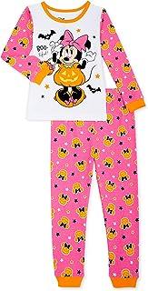Disney Minnie Mouse Halloween 2 Piece Pajama Set (Pink, 4T)
