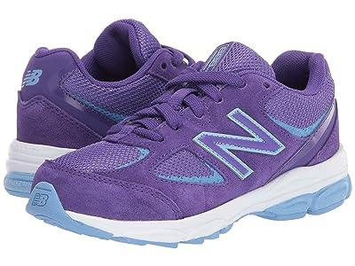 New Balance Kids PK888v2 (Little Kid) (Prism Purple/Team Carolina Blue) Girls Shoes