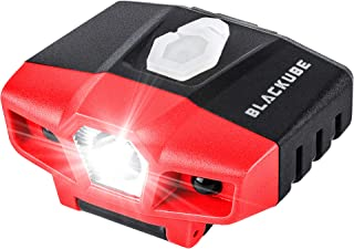 USB Rechargeable Cap Hat Light Ball Cap Visor Light - Clip Headlamp Hands Free Rotatable Cree LED Portable Clip on Cap Light for Reading Hunting Fishing Running