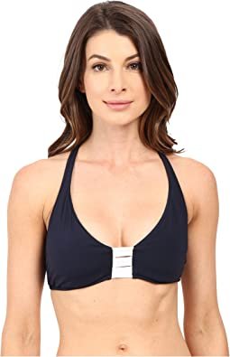 Seafolly - Block Party D Cup Halter Top