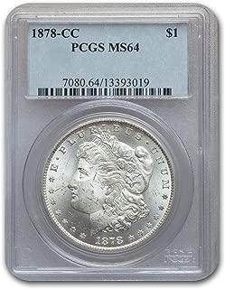 1878 CC Morgan Dollar MS-64 PCGS $1 MS-64 PCGS