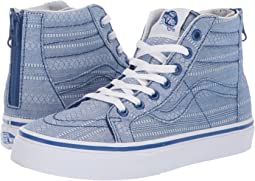 (Lace Chambray) True Blue/True White