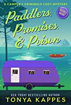 Paddlers, Promises & Poison Cover coming soon!: A Camper and Criminals Cozy Mystery Book 16