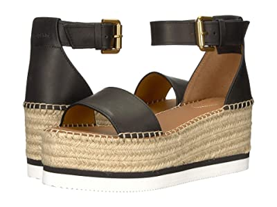 See by Chloe SB32201A (Black Natural Calf) Women
