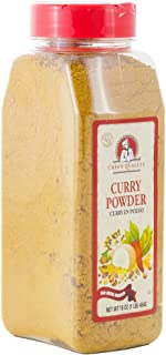Curry Powder Seasoning with No MSG Added 1 Pound - Chef Quality,16 oz