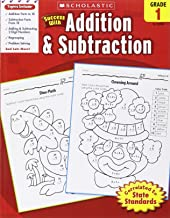 Scholastic Success with Addition & Subtraction, Grade 1 (Success With Math)