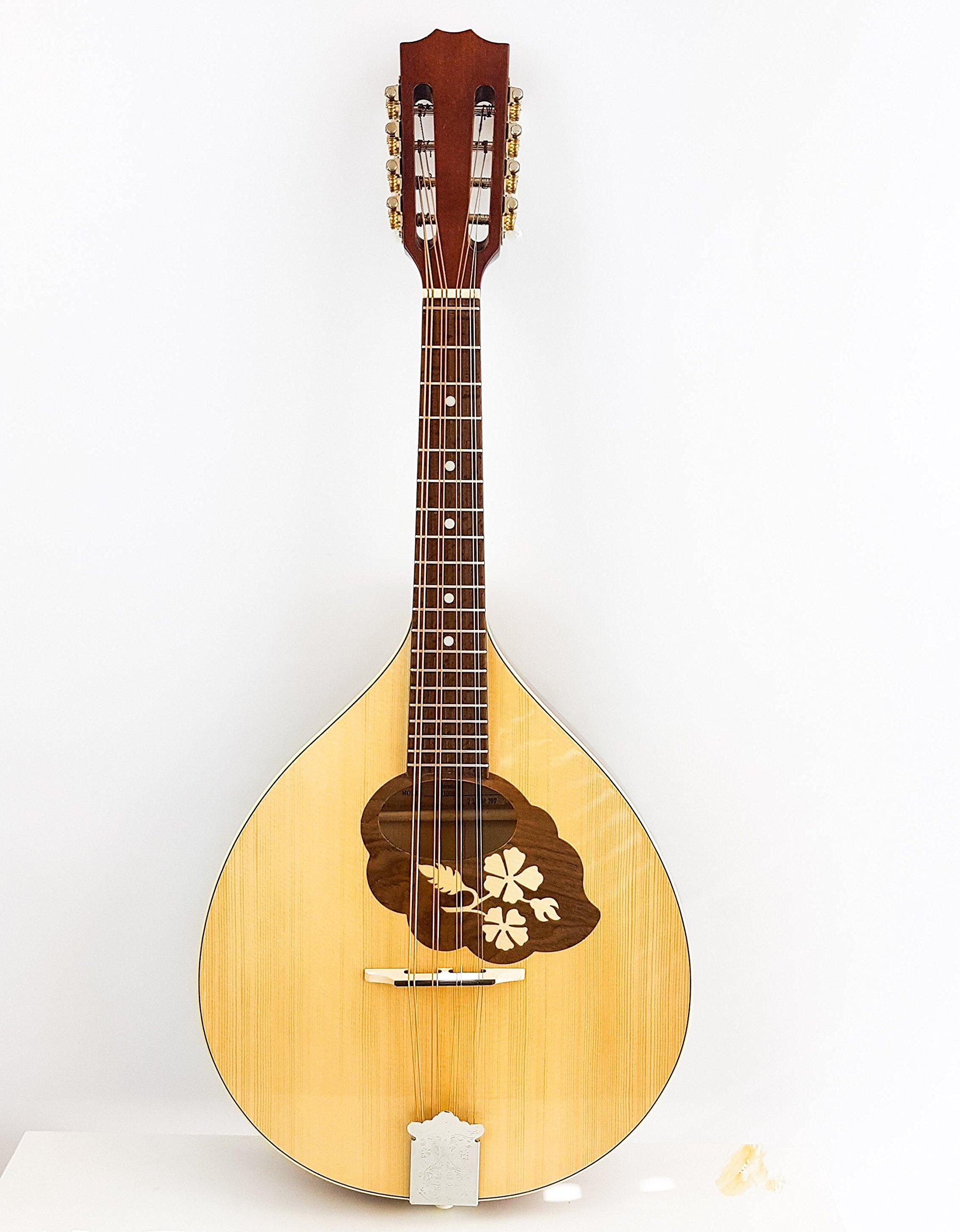 Dannan Mandola irlandés tradicional/mandolina – 8 cuerdas: Amazon ...