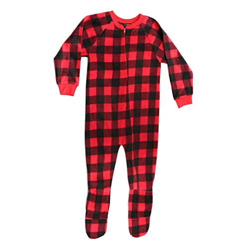 Baby Buffalo Plaid Pajamas: Amazon.com