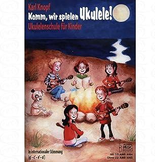 Komm wir spielen Ukulele - arrangiert für Ukulele [Noten/Sheetmusic] Komponist : Knopf Karl
