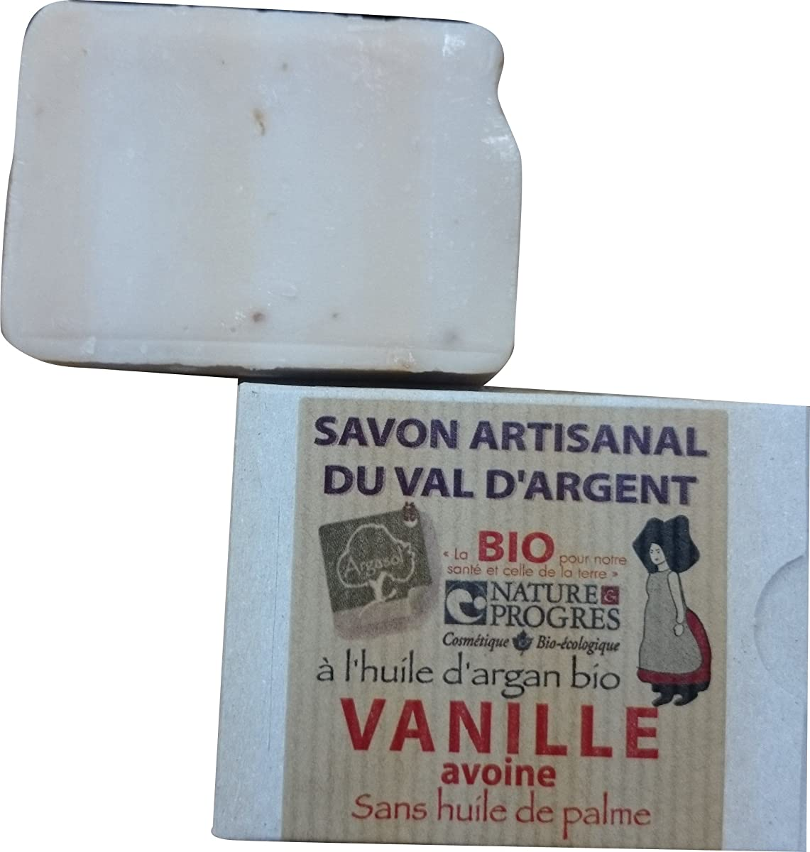 袋花輪覆すサボン アルガソル(SAVON ARGASOL) バニラ
