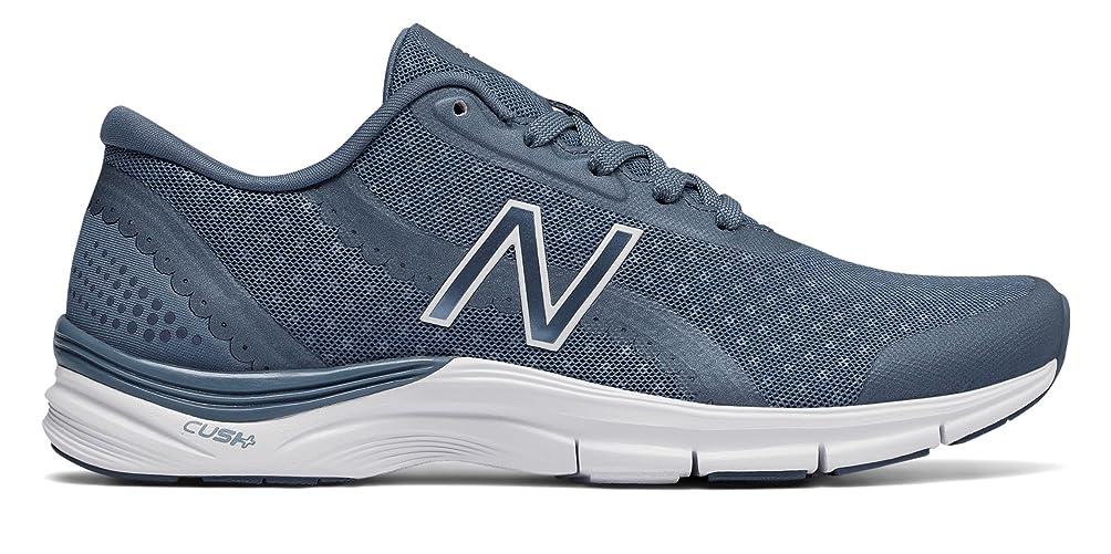 差評価不均一(ニューバランス) New Balance 靴?シューズ レディーストレーニング 711v3 Mesh Trainer Vintage Indigo with White インディゴ ホワイト US 8.5 (25.5cm)