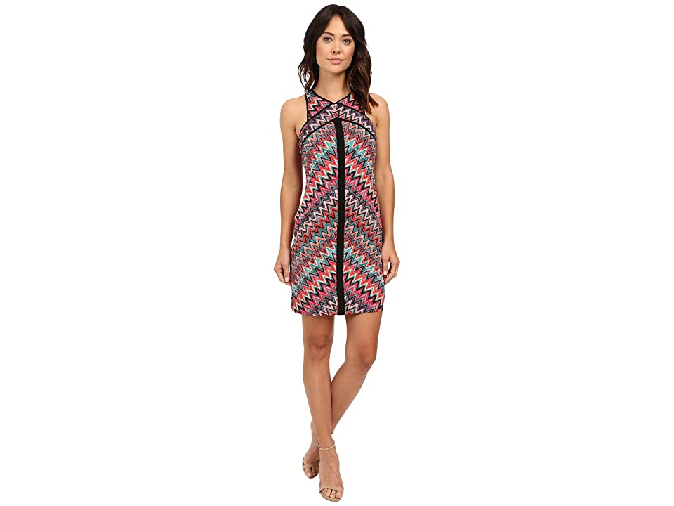 Laundry by Shelli Segal Miss Only Me Matte Jersey Printed Dress (Nautilus) Women