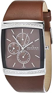 Skagen Women's 656LSLD Japan Quartz Movement Chronograph Watch