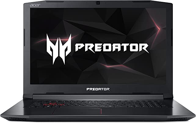 Acer Predator Helios 300 PH317-51-78H7 43 9 cm  17 3 Zoll Full-HD IPS matt  Gaming Laptop  Intel Core i7-7700HQ  8GB RAM  256GB PCIe SSD  1 000GB HDD  GeForce GTX 1050Ti  4GB VRAM   Win 10  schwarz