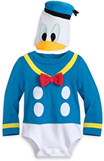 Disney Donald Duck Costume Bodysuit for Baby Size 6-9 MO Multi