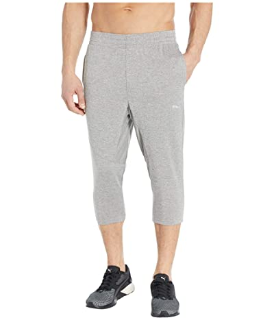PUMA Reactive 3/4 Pants (Medium Gray Heather) Men
