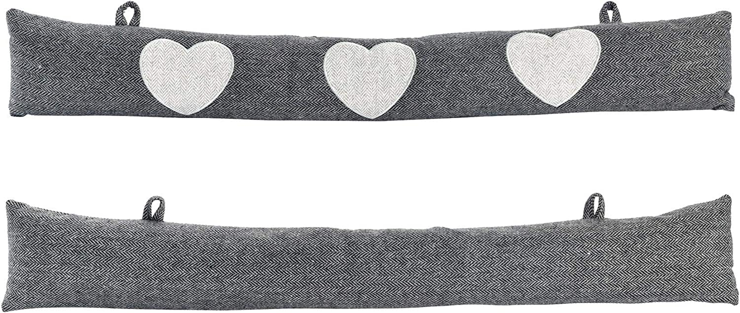 Max Fresno Mall 79% OFF Nicola Spring Draught Excluders Cushion - Pattern wi Herringbone