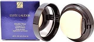 Estee Lauder Women's Double Wear Makeup To Go Liquid Compact, 1W2 Sand, 0.40 Ounce