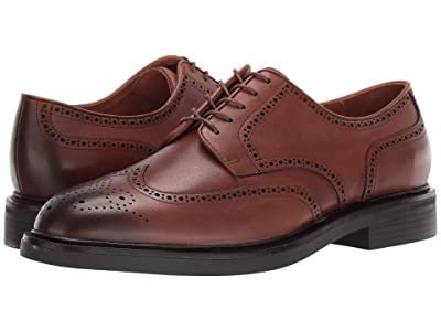 Polo Ralph Lauren Asher Wing Tip (Snuff Calf Leather) Men