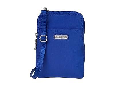 Baggallini New Classic Take Two RFID Bryant Crossbody (Cobalt) Handbags