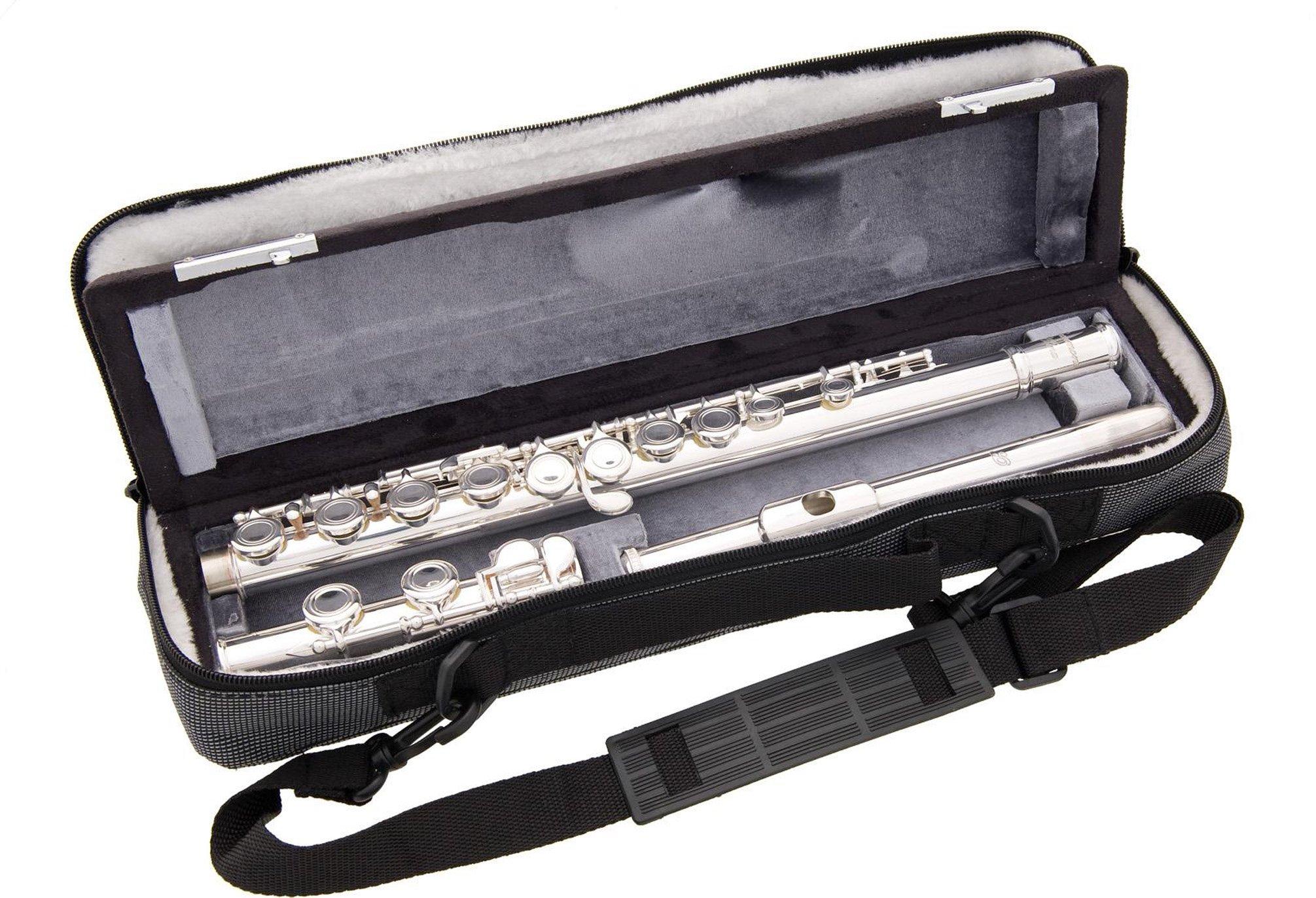 Beaumont Basi Alina - Flauta travesera para estudiantes avanzados (con cabeza de plata resistente): Amazon.es: Instrumentos musicales