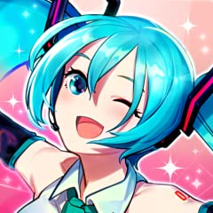 Tap to make the crowds at Miku's concerts go wild! Dress Miku up as you like with a wide variety of costumes! Collect cute support characters that will help your concerts! In addition to Hatsune Miku, other popular virtual singers such as Kagamine Ri...