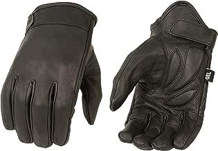 Milwaukee MG7510-BLK-L Men's Summer Cruising Gloves (Black, Large)