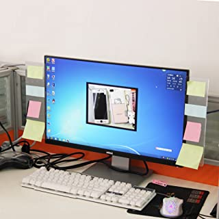 Sansheng Multifunctional Acrylic Transparent Computer Display, Monitor Message Board Side Panel/Notepad/Message Board/Comp...