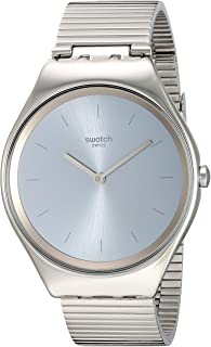 Skin Irony Quartz Stainless Steel Strap, Grey, 17 Casual Watch (Model: SYXS103GG)