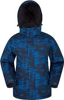 Mountain Warehouse Shadow Mens Printed Ski Jacket - Warm Snow Jacket