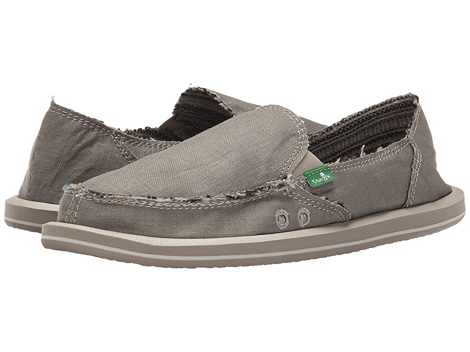 Sanuk Donna Hemp (Olive Grey) Women