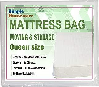 Simple Houseware SHW Queen Size Mattress Bag
