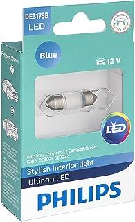 Philips Automotive Lighting DE3175BLED Ultinon LED Bulb (Blue), 1 Pack