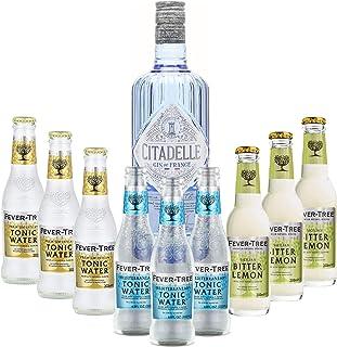Pack Citadelle & Mixer – Gin de France 1  70cl & Fever Tree – Premium Indian 3  20cl / Mediterranean 3  20cl / Sicilian Lemon 3  20cl