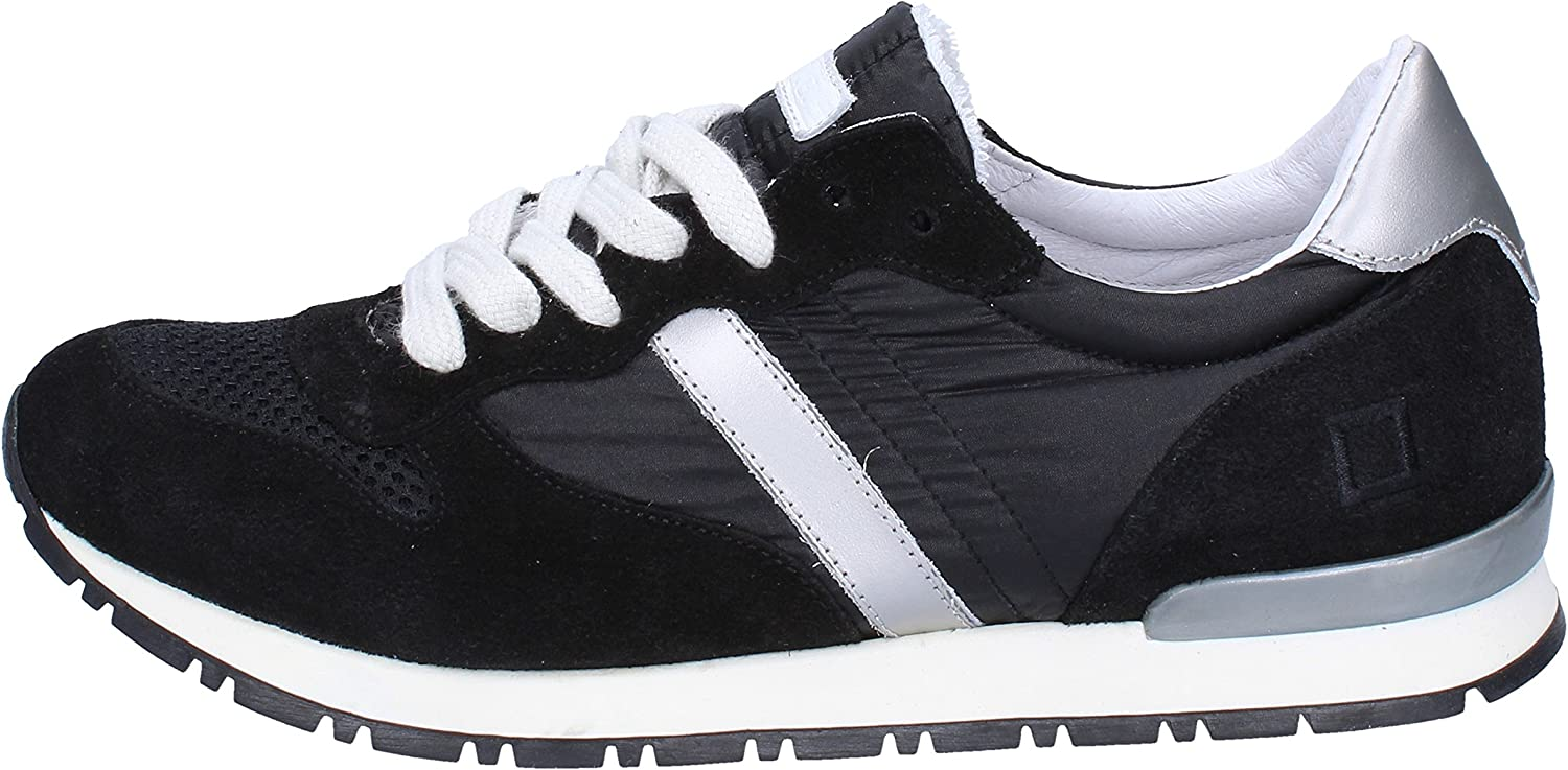 D.A.T.E. (DATE) Fashion-Sneakers Womens Suede Black