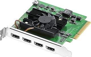 Blackmagic Design DeckLink Quad HDMI Recorder PCIe Card