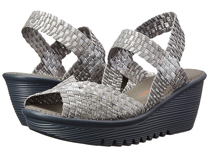 bernie mev.  Fame (Silver/Grey) Womens Sandals
