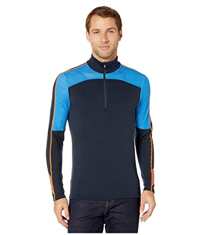 Helly Hansen Lifa Merino 1/2 Zip (Electric Blue) Men