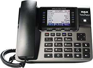 RCA Unison Accessory Desk Station Wireless 4-Line Landline Telephone, Not for Independent Use, Requires Unison U1000 Base Station (U1100)