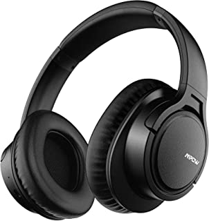 Mpow H7 Bluetooth Headphones, Comfortable Over Ear Wireless Headphones, Hifi Stereo Headset, Wireless Wired Mode, CVC6.0 M...
