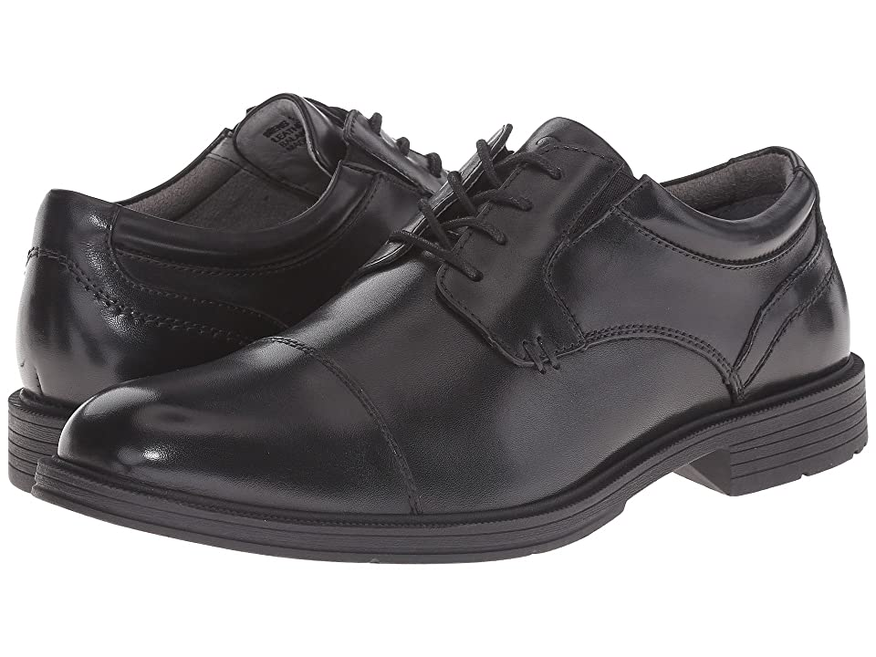 Florsheim Mogul Cap Toe Oxford (Black Smooth) Men