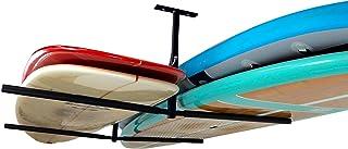 StoreYourBoard Double SUP & Surf Ceiling Storage Rack, Hi Port 2 Overhead Hanger Mount, Home & Garage