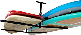 StoreYourBoard Double SUP & Surf Ceiling Storage Rack, Hi Port 2 Overhead Hanger Mount, Home & Garage