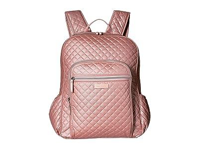 Vera Bradley Iconic Campus Backpack (Rose Quartz) Backpack Bags