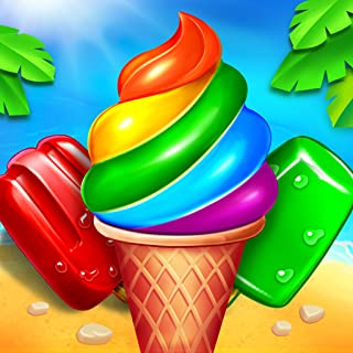 Ice Cream Paradise - Free Match 3 Puzzle Game for Amazon Kindle Fire 2019
