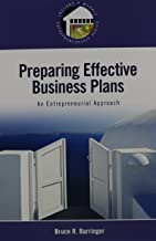 Preparing Effective Business Plans: An Entrepreneurial Approach with Business Plan Pro, Entrepreneurship: Starting and Operating a Small Business (Ireland Morris Entrepreneurship)